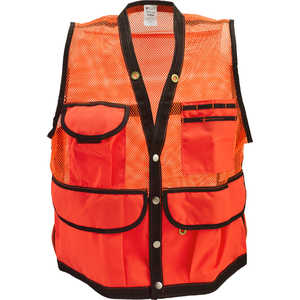Jim-Gem® 8-Pocket Nylon Mesh Cruiser Vest