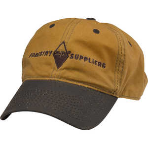 Forestry Suppliers Waxed Canvas Field Cap, Tan/Brown