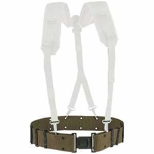 "Nylon Pistol Belt, 2-1/4""W, Up to 46"" Waist"