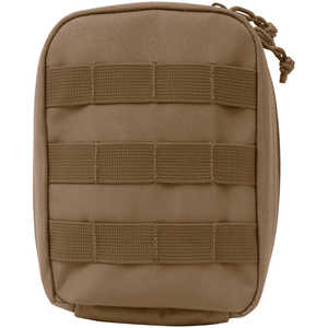 Tactical First Aid Kit with MOLLE Clips, Coyote Brown