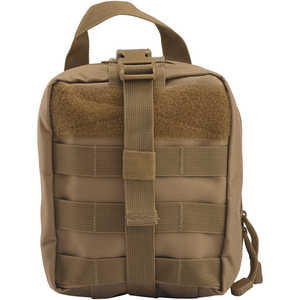 Tactical Breakaway Pouch with MOLLE Clips, Coyote Brown