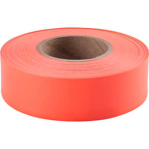 Presco Taffeta Vinyl Flagging, Orange Glo