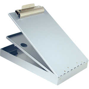 "Saunders Cruiser Mate Sheet Holder, 8-1/2"" x 12"", Silver"