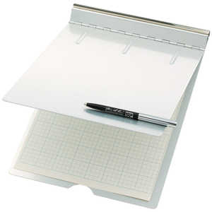 "Saunders Top-Cover Clipboard, 5-1/2"" x 8-1/2"""