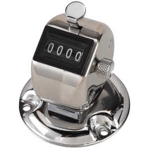 Base Mount Tally Counter, 1 Counting Unit