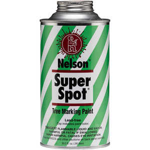 Nelson Super Spot Tree Marking Paint, Blue Quart