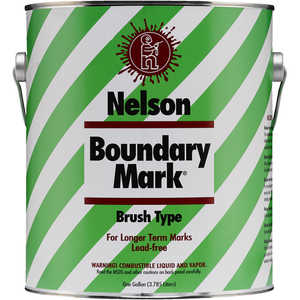 Blue Gallon Nelson Boundary Mark Boundary Paint
