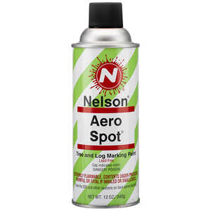 Nelson AeroSpot Spray Paint, Black