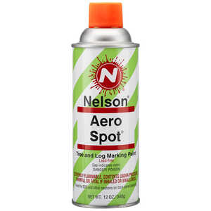 Nelson AeroSpot Spray Paint, Orange Glo