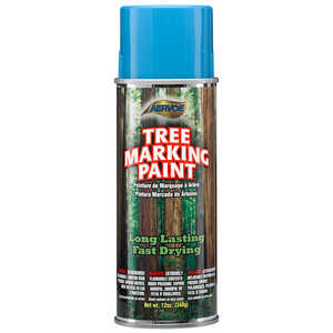 Blue Aervoe Lead-Free Aerosol Tree Marking Paint