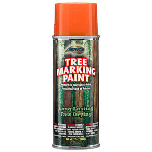 Orange Aervoe Lead-Free Aerosol Tree Marking Paint