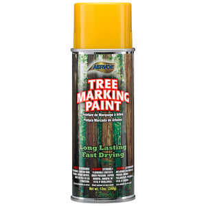Yellow Aervoe Lead-Free Aerosol Tree Marking Paint