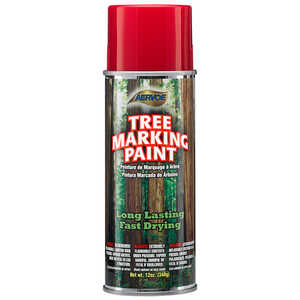 Red Aervoe Lead-Free Aerosol Tree Marking Paint