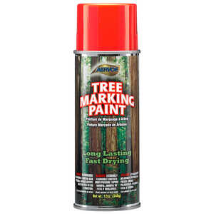 Fluor. Red Aervoe Lead-Free Aerosol Tree Marking Paint