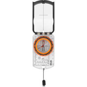 Silva Ranger 2.0 Compass with Built-In Clinometer, Azimuth with Black/Orange Bezel