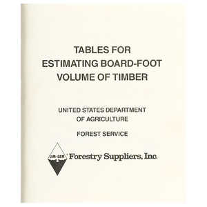 Jim-Gem Tables for Estimating Board-Foot Volume of Timber