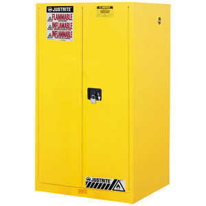 Justrite 60-Gallon Capacity Safety Can Cabinet