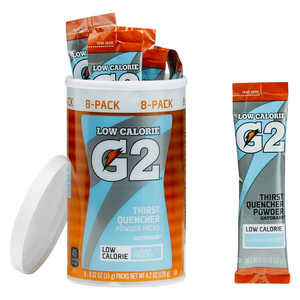 Gatorade G2 Powder Packs, Glacier Freeze, Pack of 8
