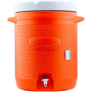 Rubbermaid Water Cooler, Ten Gallon