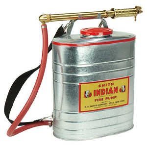 Galvanized Indian Backpack Firefighting Pump