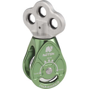 Notch Rook Triple Attachment Swivel Pulley