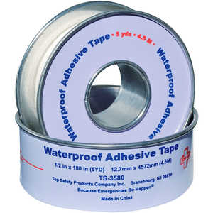 "Waterproof Tape, 1/2""W x 5 yd."