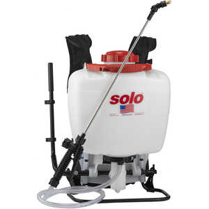 Solo Model 425 Professional Backpack Sprayer, 4 Gallon Piston Pump