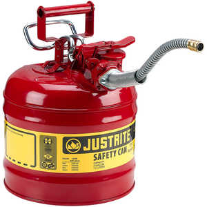 Justrite Type II AccuFlow Safety Can, 2-Gallon