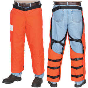 "SwedePro Six-Layer Chain Saw Wrap Chaps, 40""L"