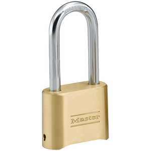 "Master Lock Combination Lock, 5/16"" x 2¼"" x 1"" Shackle"