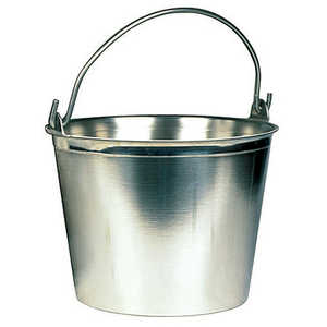 Stainless Steel Pail, 9-Quart Capacity
