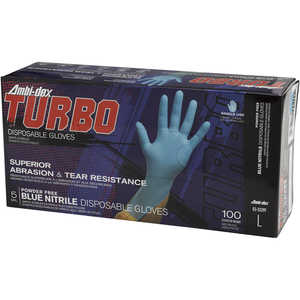 Ambi-Dex® Turbo Disposable 4 mil Nitrile Gloves