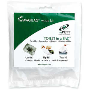 WAG Bag Waste Kits, Pack of 100