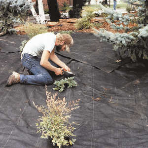 DeWitt Weed Barrier Pro Landscape Fabric, 4' x 300', Black