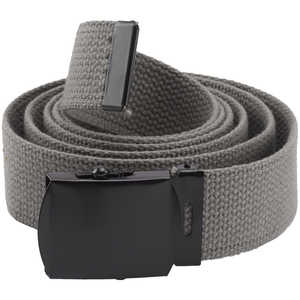 Rothco Web Belt, 54˝, Foliage Green with Black Buckle
