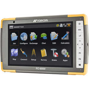 Topcon FC-6000 Field Computer with 4G LTE Cellular Modem