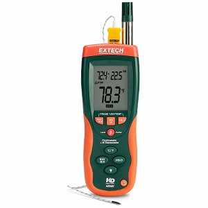 Extech Psychrometer with Infrared Thermometer Model HD500