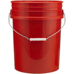 Premium 5-Gallon Bucket, Orange