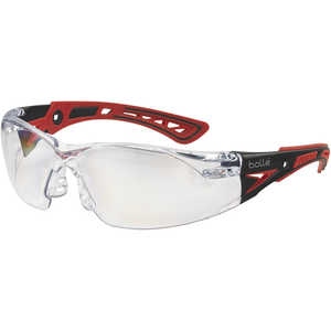 Bolle Rush+ Safety Glasses with Clear Platinum Lens