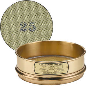 "No. 25; 710 µm/0.0278"" Dual Manufacturing Standard Testing Sieve"