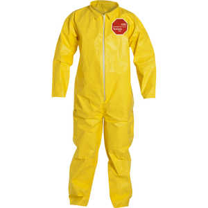 DuPont Tychem 2000 Special Purpose Yellow Coveralls, without Hood, XXXXL