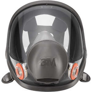 3M 6000 Series Full Facepiece Respirator, Medium