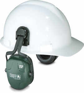 Howard Leight Thunder T2H Cap Mount Earmuffs