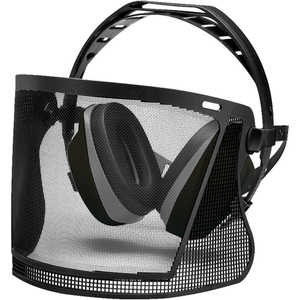 Elvex Mesh Brushguard with Muffs
