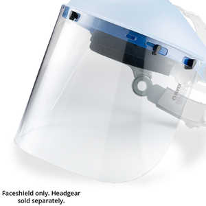Elvex Faceshield, Polycarbonate