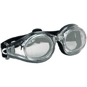 Bugz Sight Shield Steel Mesh Safety Goggles, #20 Mesh