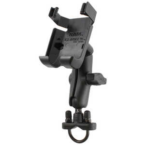 RAM® Mounts Handlebar Rail Mount with Stainless Steel U-Bolt Base for Garmin® 73 and 78 Series GPS Receivers