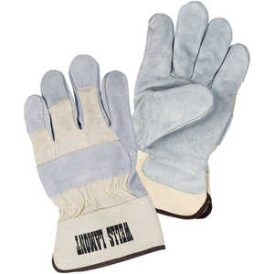 Wells Lamont Leather Palm Gloves, X-Large