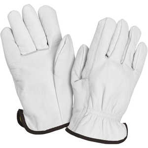 Wells Lamont Grain Goatskin Kevlar Lined Gloves, Medium