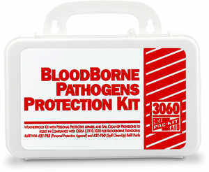 Bloodborne Pathogens Protection Kit